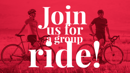 join us for a group ride