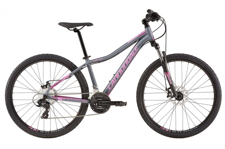 2016 Cannondale Foray 3 Charcoal Grey w/ Orchid, Red Violet, Matte