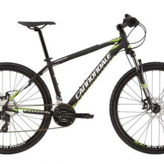 2016 Cannondale Catalyst 3 Jet Black w/ White, Berzerker Green, Matte- REP