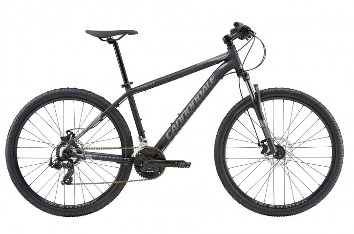 2016 Cannondale Catalyst 4 Jet Black w/ Charcoal Grey, Matte- BBQ