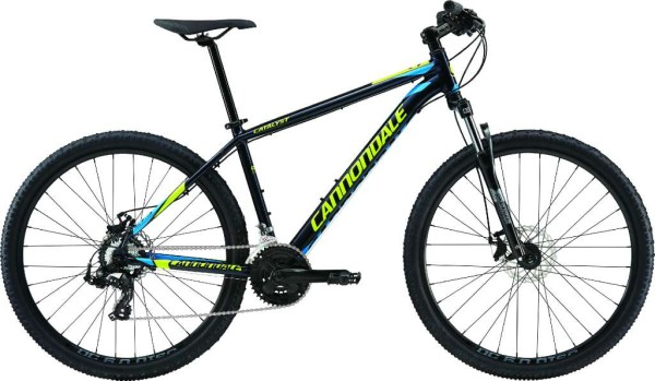 2016 Cannondale Catalyst 4 Midnight w/ Neon Spring, Ultra Blue, Gloss-MDN