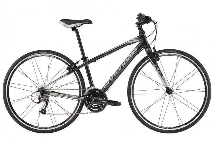 2016 Cannondale Quick 4 Womens Nearly Black w/ Fine Silver, Gloss