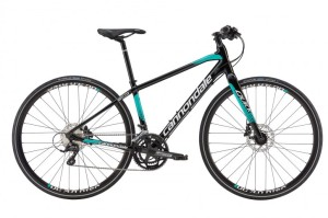 2016 Cannondale Quick Speed 2 Womens Jet Black w/ Jungle, Magnesium White, Gloss