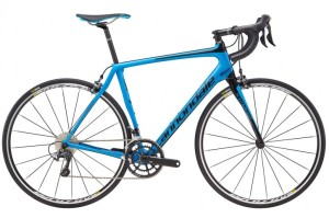 2016 Cannondale Synapse Carbon Ultegra 3 Mens Jet Black w/ Ultra Blue, Gloss