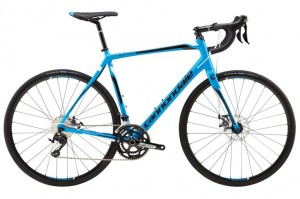 2016 Cannondale Synapse Disc 105 5 Ultra Blue w/ Jet Black, Magnesium White, Gloss