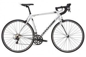 2016 Cannondale Synapse Sora 7 Mens Magnesium White w/ Jet Black, Charcoal Grey, Gloss