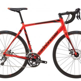 2016 Cannondale Synapse Disc Tiagra 6 Mens Acid Red w/ Jet Black, Matte