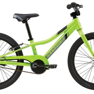 2016 Cannondale Trail 20 Single-Speed Boys Berserker Green w/ Jet Black, Stealth Grey, Gloss
