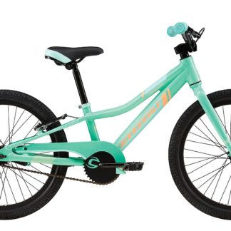 2016 Cannondale Trail 20 Single-Speed Girls Tropics w/ Linen Green, Brazilliant, Gloss
