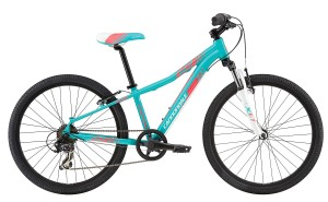 2016 Cannondale Trail 24 Girls Turquoise w/ Magnesium White, Jet Black, Acid Strawberry, Gloss