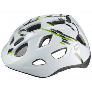 2016 Cannondale Quick White Green Kids Helmet