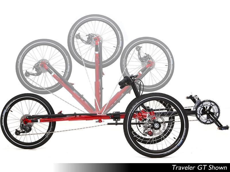 TerraTrike Traveler Folding Trike