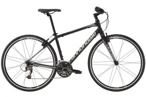 2016 Cannondale Quick 4 Jet Black w/ Primer, Stealth Grey, Matte