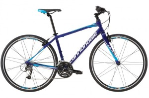 2016 Cannondale Quick 4 Mens Cobalt w/ Ultra Blue, Magnesium White, Gloss