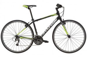 2016 Cannondale Quick 5 Mens Jet Black w/ Berzerker Green, Magnesium White,