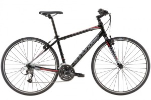 2016 Cannondale Quick 5 Jet Black w/ Charcoal Gray, Race Red, Gloss