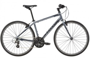 2016 Cannondale Quick 6 Charcoal Gray w/ Jet Black, Midnight Blue, Gloss