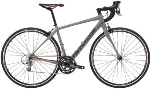 2015 Cannondale Synapse Tiagra 6 Womens Gray/Pink Road Bike