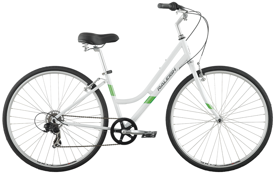 2016 Raleigh Detour 1 White