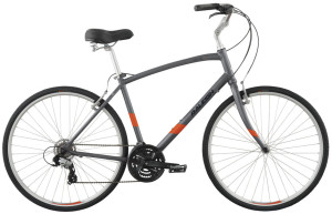 2016 Raleigh Detour 2 Mens Dark Silver