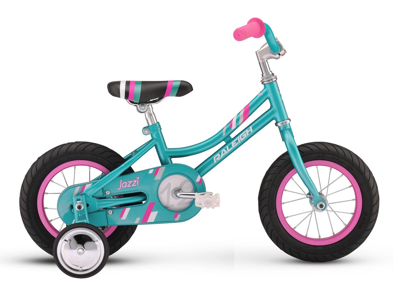 2016 Raleigh Jazzi 12 Teal Girl's Bike