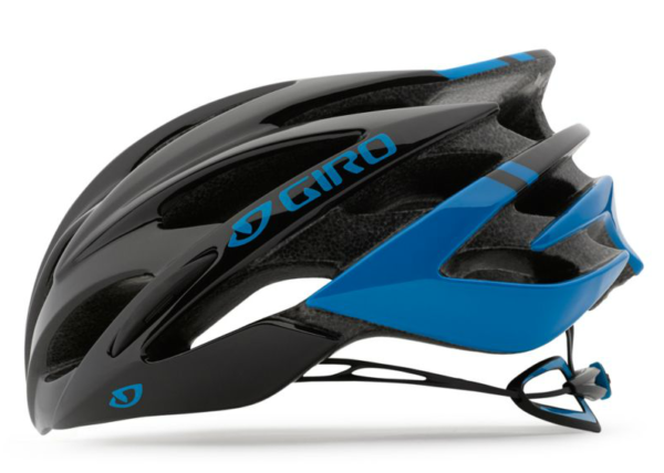 2016 Giro Savant Blue/Black Men's Endurance Road Helmet