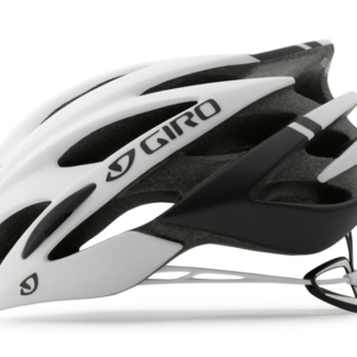 2016 Giro Savant Matte Black/White Men's Endurance Road Helmet