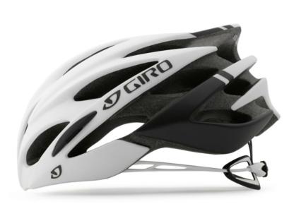 2016 Giro Savant Matte Black/White Men's Endurance Road Helmet