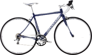 2013 Cannondale Synapse 6 Womens Tiagra Indigo Blue w/ Fine Silver Gloss Womens Road Bike