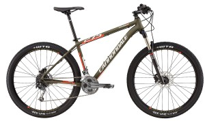 2016 Cannondale Trail 3 Green Clay w/ Acid, Reflective Silver, Matte Mountain Bike