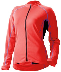 Cannondale Classic Womens Longsleeve Jersey Coral