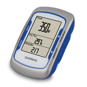 Garmin Edge 500 GPS Enabled Cycling Computer White/Blue