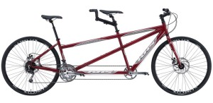 KHS Cross Tandem Red