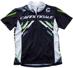 2014 Cannondale Kids Jersey Black/White/Green