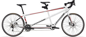 Cannondale Road 2 Tandem White/Black/Red