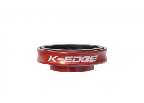 K-Edge Gravity Cap Computer Mount for Garmin (Red)
