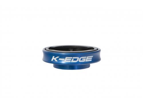 K-Edge Gravity Cap Computer Mount for Garmin (Blue)