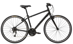 2015 Cannondale Quick 4 Womens Nearly Black w/ Jet Black and Charcoal Grey Accents, Gloss