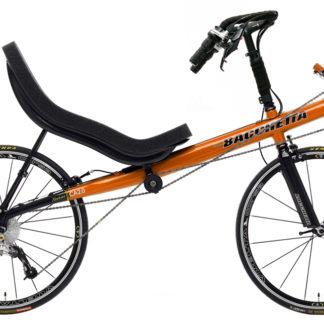Bacchetta Carbon Aero 650c Pearl Orange Two Wheeled Recumbent