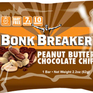 Bonk Breaker Peanut Butter Dark Chocolate Chip Protein Energy Bar