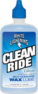White Lightning Clean Ride Self-Cleaning Wax Lube 4oz Drip