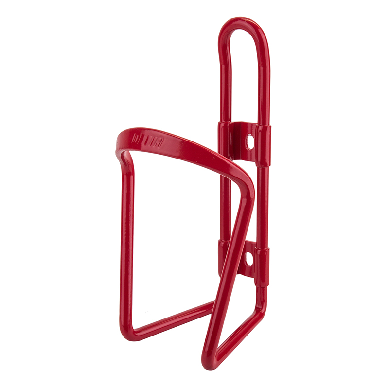 Delta Alloy Bottle Cage Red
