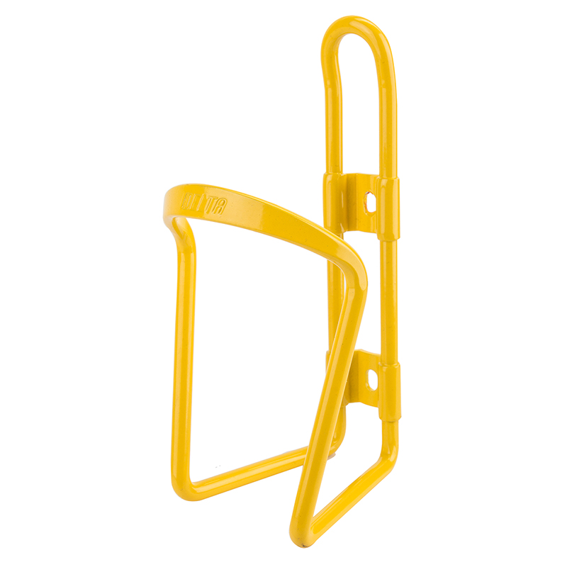 Delta Alloy Bottle Cage Yellow