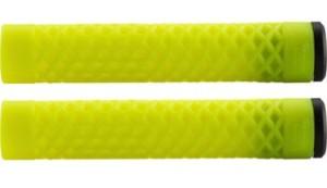 ODI Cult X Vans Flangless Grips Fluro Yellow
