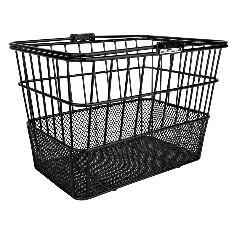 Sunlite Standard Mesh-Bottom Lift-Off Basket Black