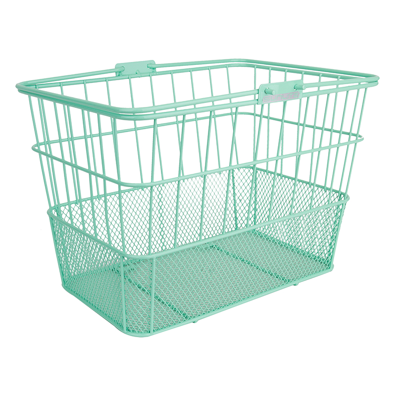 Sunlite Standard Mesh-Bottom Lift-Off Basket Spring Green