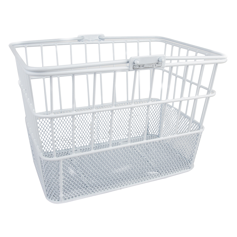 Sunlite Standard Mesh-Bottom Lift-Off Basket White