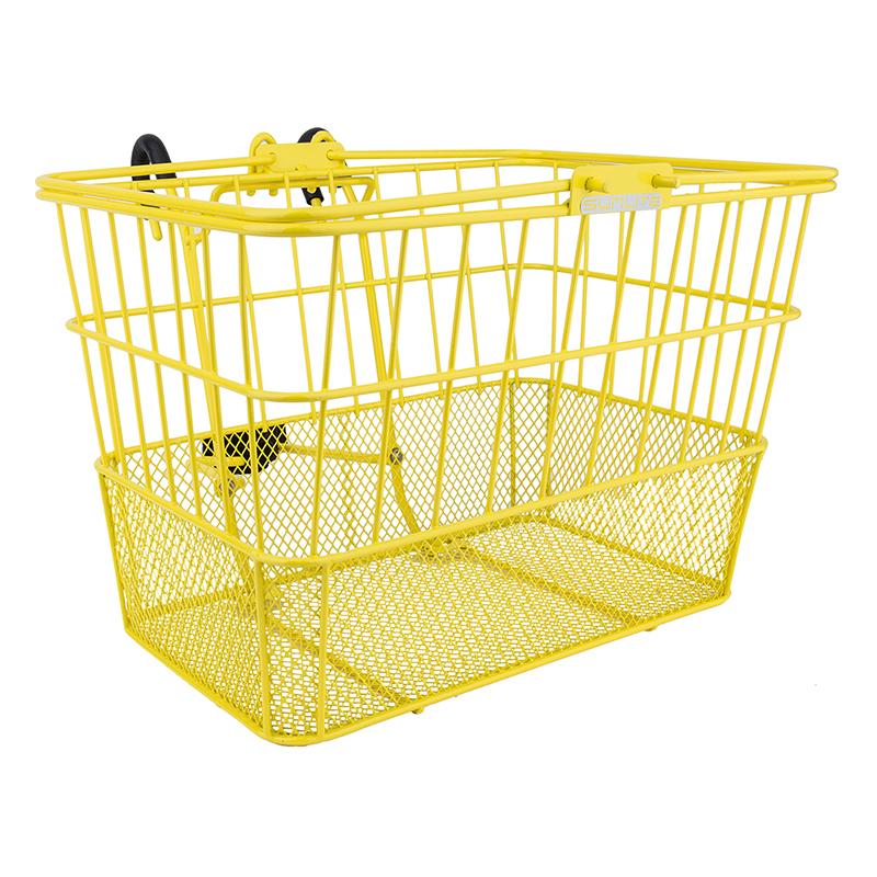 Sunlite Standard Mesh-Bottom Lift-Off Basket Yellow