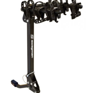 "Swagman Trailhead 3 Hitch Rack fits 1 1/4"" and 2"" receivers"