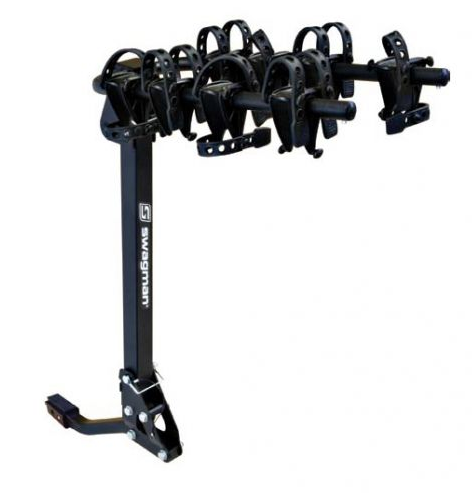 "Swagman Trailhead 4 hitch rack fits 1 1/4"" and 2"" recievers"